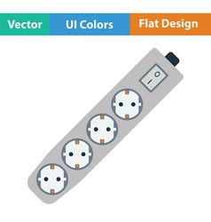 Electric extension icon vector image vector image