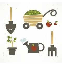 garden collection vector image