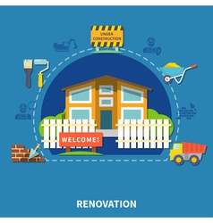 House renewal concept vector