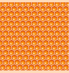 Seamless honeycomb vector