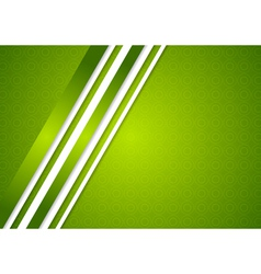 Bright green abstract background vector image