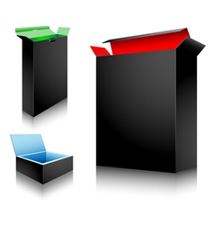 art box vector image vector image