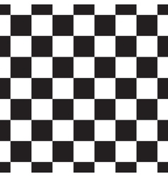 Black and white checkerboard pattern vector image