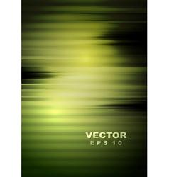 Dark green tech striped background vector