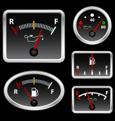 gas full set vector image vector image