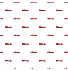 Sport car side view pattern vector