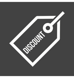 Discount tag vector