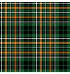 celtic fc green tartan seamless pattern fabric vector image vector image