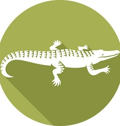 Crocodile Icon vector image vector image
