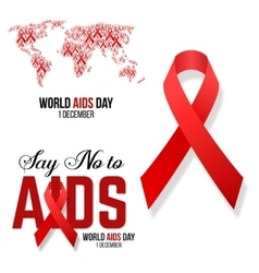 Hivaids awareness vector