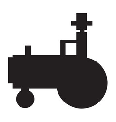 Isolated tractor icon vector