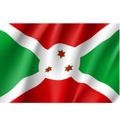 National flag republic of burundi vector