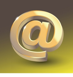Colored email icon sign vector