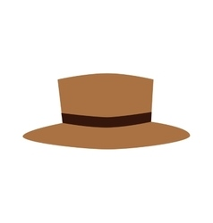 Broen hat beautiful vector image vector image