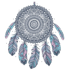 Ethnic Dream catcher vector image vector image