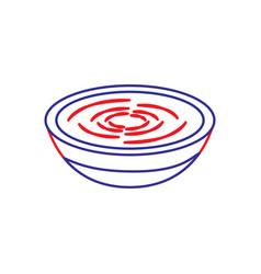 Traditional food catalonia romesco gastronomy vector
