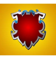 Emblem shield vector