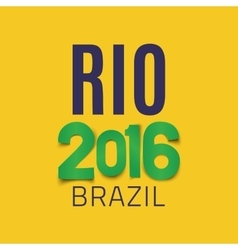 Brazil background template vector