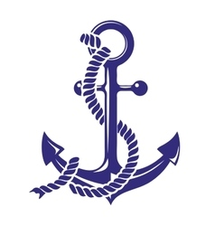 Anchor stenci symbolt isolated vector
