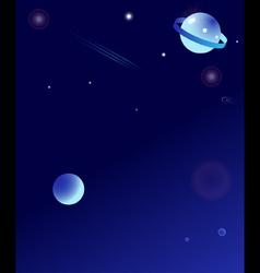 Fantasy space vector image