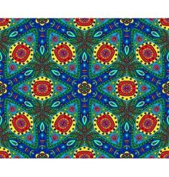 Kaleidoscope color seamless pattern vector