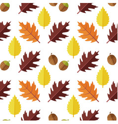 Seamless pattern with various colorful vector