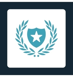 Shield icon from Award Buttons OverColor Set vector image vector image
