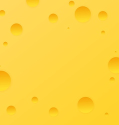 Present card with cheese background vector