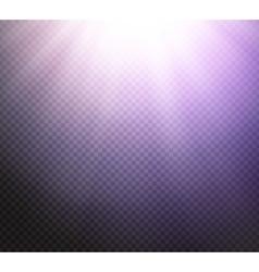 Sunlight rays transparent light effect vector image