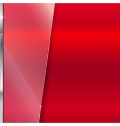 Elegant background with glass banner vector image vector image