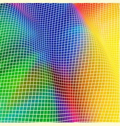 Square wave background vector