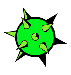 Virus icon icon cartoon vector
