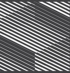 Abstract geometric retro seamless pattern vector
