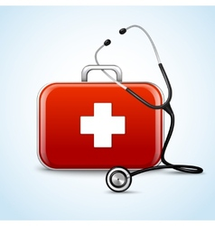 First aid healthcare concept vector