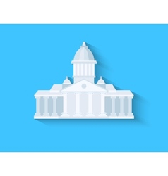 Government flat design vector image