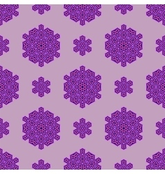Creative ornamental seamless pink pattern vector