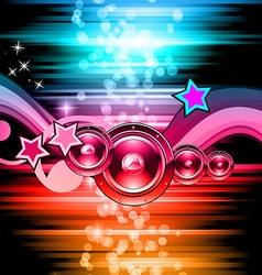 rayDISCOclub vector image vector image