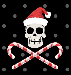 Pirate christmas vector