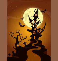 55 halloween bg vector image