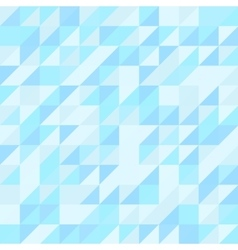 Blue triangle seamless pattern geometric vector