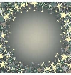 splatter frame vector image