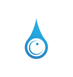 water nature logo and symbols template icons app vector image vector image