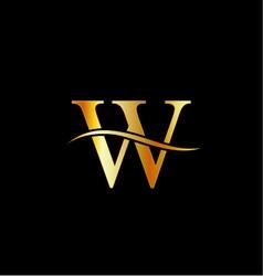 Alphabet logo vector