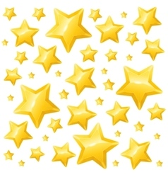 Golden star background wallpaper or card vector