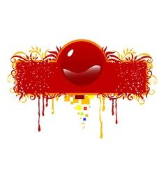 Grunge icon design vector