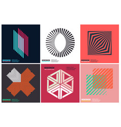 Simplicity geometric design vector