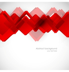Background with red squares vector
