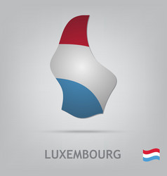Luxembourg vector