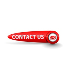 contact us icon design vector image