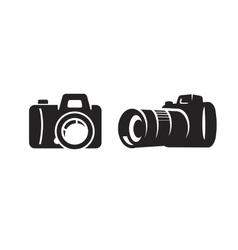 black camera vector image vector image